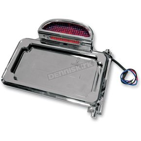 Joker Machine Chrome Plated Side Mount Taillight/License Plate Assemblies - 10570C