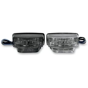 Light Werkes Light Werkes Smoke Integrated Taillights - TLH607S