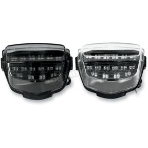 Light Werkes Light Werkes Clear Integrated Taillights - TLH1003C
