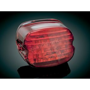 Kuryakyn Low-Profile Panacea LED Taillight with Red Lens - 5424