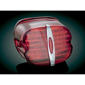 Kuryakyn Deluxe LED Taillight Conversion Kit with Red Lens - 5432