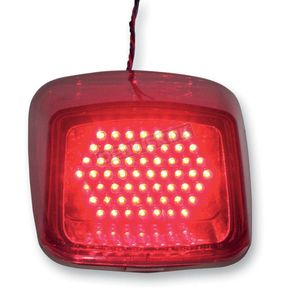 Custom Dynamics V-Rod Taillight - V-ROD-STD-RED