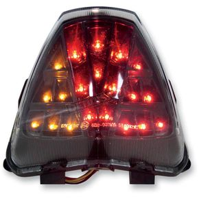 Competition Werkes Integrated Taillight w/Stealth Lens - MPH-30121S