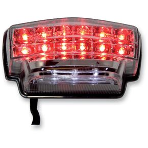 Competition Werkes Integrated Taillight w/Clear Lens - MPH-30104C