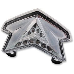 Competition Werkes Integrated Taillight w/Clear Lens - MPH-40041C