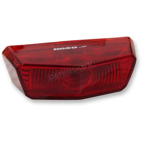 Koso North America Nano LED Taillight w/Red Lens - HB026010