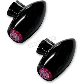 Joker Machine Black Astro Red LED Side Rail-Mount Marker Lights - 05-53RB