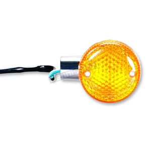 K & S DOT Approved Turn Signals w/Amber Lens - 25-1221