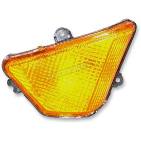 K & S DOT Approved Turn Signals w/ Amber Lens - 25-2211