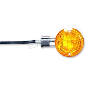 K & S DOT Approved Turn Signals w/ Amber Lens - 25-2285