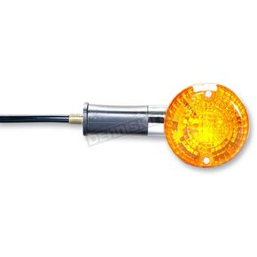 K & S DOT Approved Turn Signal w/Clear Lens - 25-1272