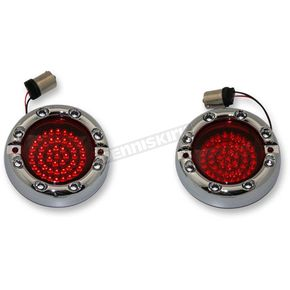 Custom Dynamics Chrome 1157 Front Base LED Turn Signal - FTRC-RR-1156-R