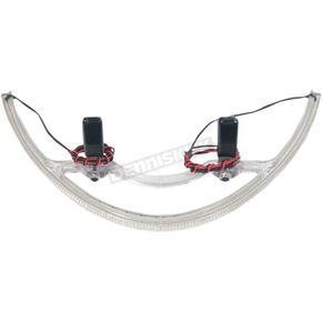 Custom Dynamics Red/Clear Rear LED Turn Signals - JR-102