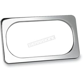 Arlen Ness Chrome Smooth License Plate Frame - 12-149