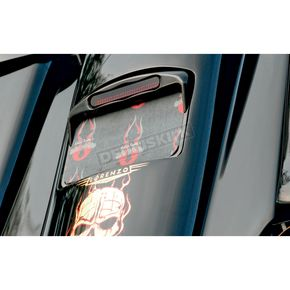 Thunder Cycle Designs Black Horizontal License Plate w/Taillight - TC-151B