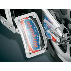 Kuryakyn Curved Side-Mount License Plate Holder - 9251