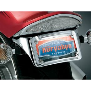 Kuryakyn Sub-Fender License Plate Bracket  - 9258