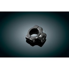 Kuryakyn Black Side Mount License Plate Clamp - 3116