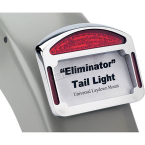 Cycle Visions Chrome Eliminator LED Taillight/License Plate Frames - CV4835