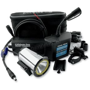 Trail Tech SCMR16 HID Spot Beam Helmet Light w/Battery and Charger - 4221-SX-LB