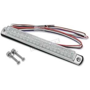 Signal Dynamics Chrome Universal LED Light Bar w/Integrated Turn Signals - 02609