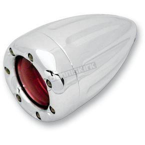 Arlen Ness Dual Function Deep Cut Factory Style Turn Signal with LED Fire Ring - 12-750