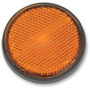 Chris Products Adhesive Back Amber Reflector - RR2A