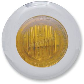 Pro-One Mini Amber LED Marker Lights with Amber Lens - 402140