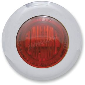 Pro-One Mini Red LED Marker Lights with Red Lens - 402150