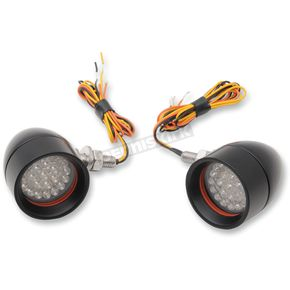 Street Magic Mini Bullet Amber LED Turn Signals - MBB-20