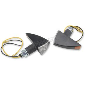2 1/2 in. X 1 1/2 in. Tri-Style LED Marker Lights with Black Matte Body - MPH-1193B