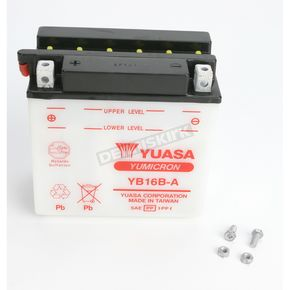 Yuasa Yumicron High Powered 12-Volt Battery - YB16B-A