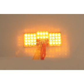 Custom Dynamics Front Fender Tip Amber LED Light - GEN-FT-A