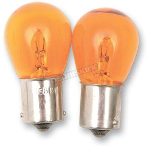 Advanced Lighting Single Contact Natural Amber Bulb - X1156-NA