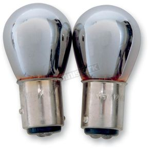 Advanced Lighting Chrome Double Contact Natural Amber Bulb - X1157-NAC