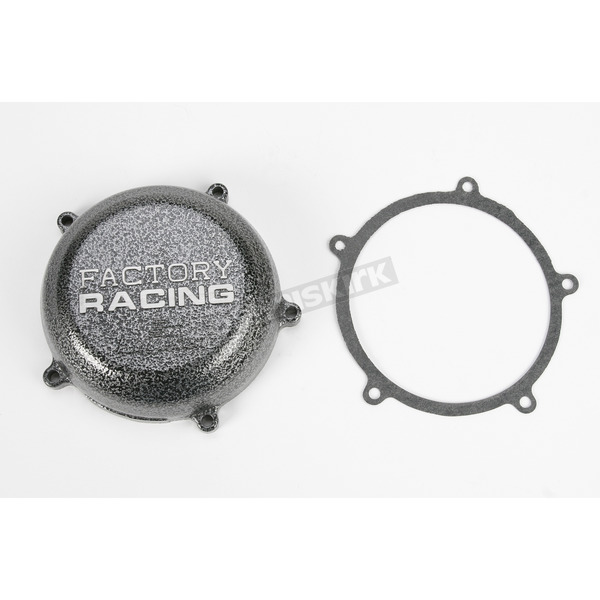 Boyesen Factory Racing Ignition Cover-Silver Vein - SC-13