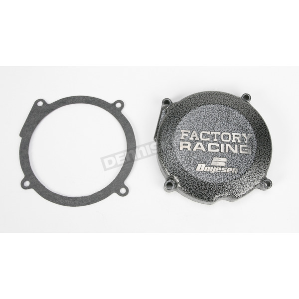 Boyesen Factory Racing Ignition Cover-Silver Vein - SC-02