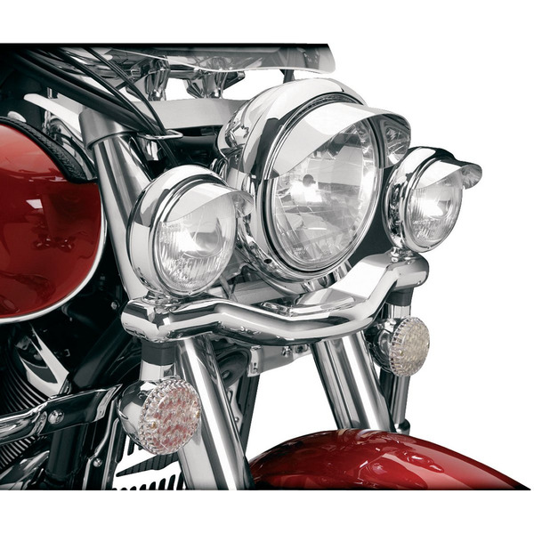 Show Chrome 3 1/2 in. Elliptical Driving Light Kit - 71-322