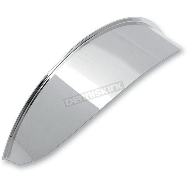 Drag Specialties 7 in. Chrome Headlight Visor - 2001-0368