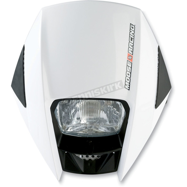 Moose White Road Warrior Headlight - 2001-0480