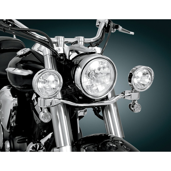 Show Chrome Accessories 3 1/2 in. Diameter Elliptical Driving Light Kit - 63-205