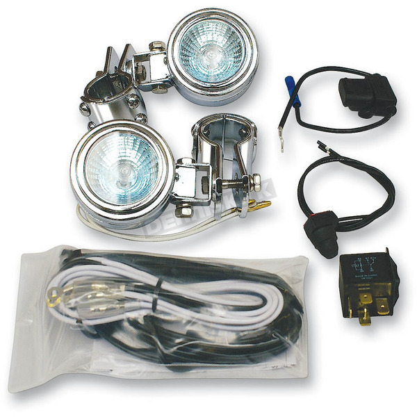 Rivco Universal Driving Light Kit for 1-1/4 in. dia. Tubing - DL20K125