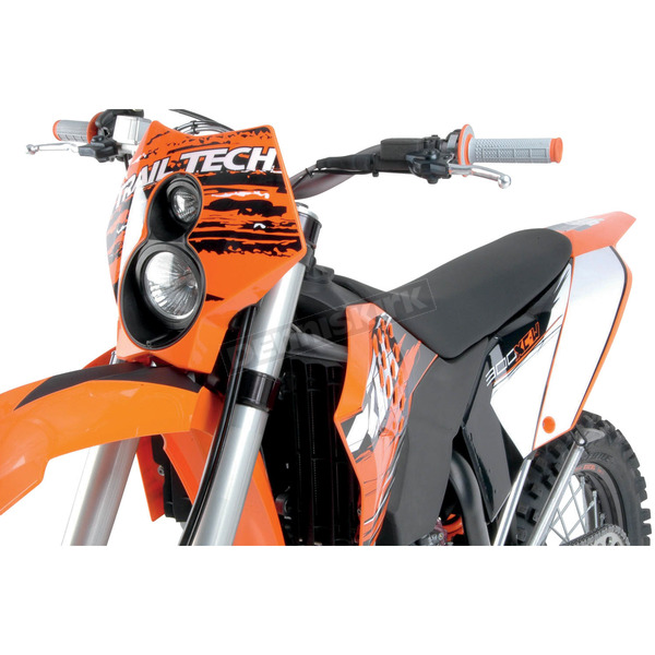 Trail Tech Orange X2 Headlight - 36T3A-70
