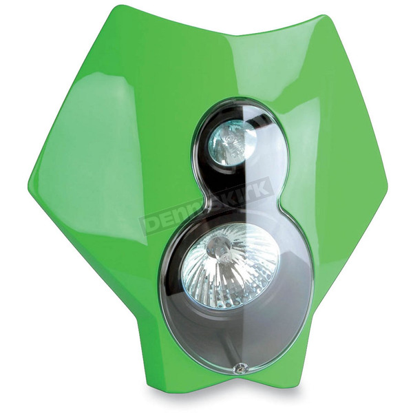 Trail Tech Green X2 Headlight - 36T6D-70