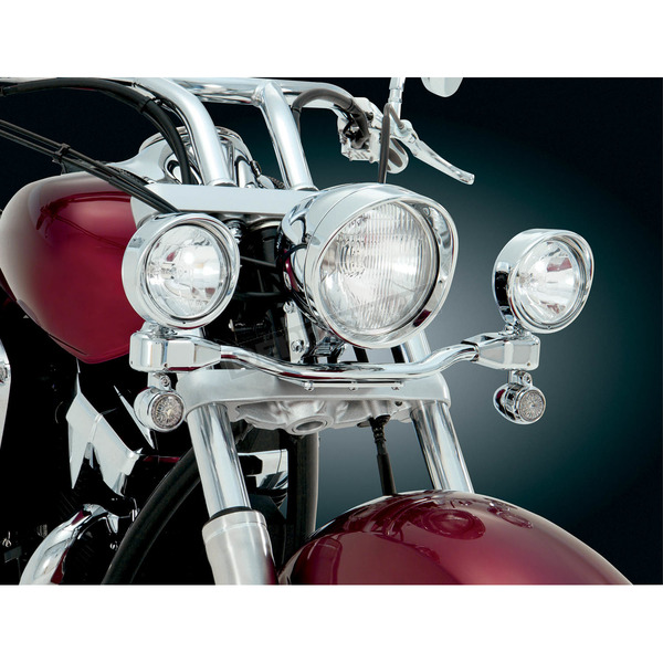 Show Chrome 3 1/2 in. Elliptical Driving Light Kit - 55-362