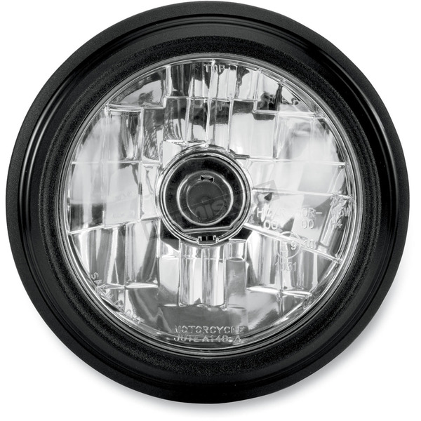 Performance Machine Black Ops 5 3/4 in. Grill Visions Headlight - 02072004MRCSMB