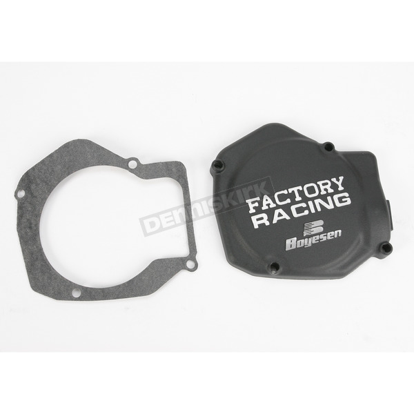 Boyesen Factory Racing Black Ignition Cover - SC-01AB