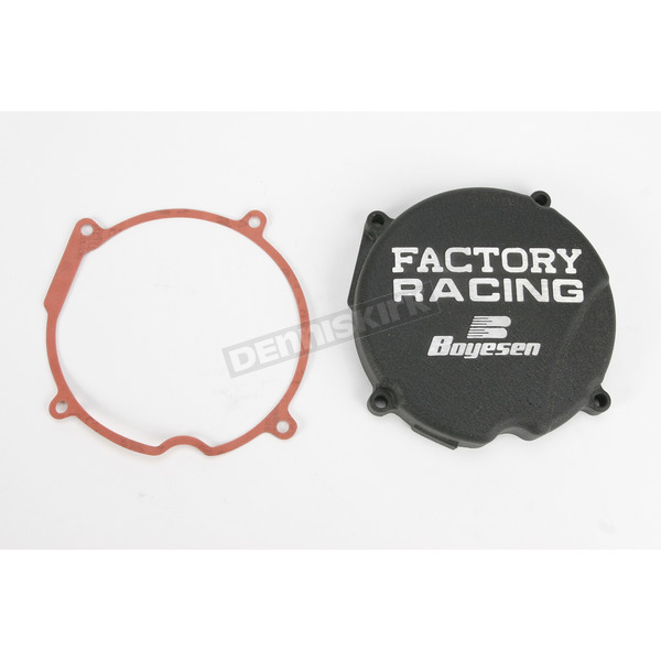 Factory Racing Black Ignition Cover - SC-03B