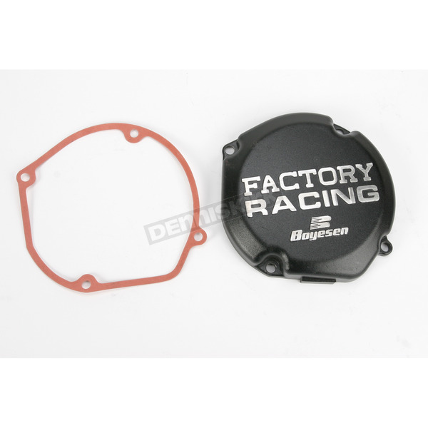 Boyesen Factory Racing Black Ignition Cover - SC-23B