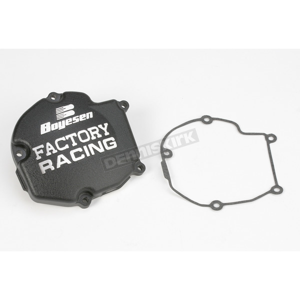 Boyesen Factory Racing Black Ignition Cover - SC11AB